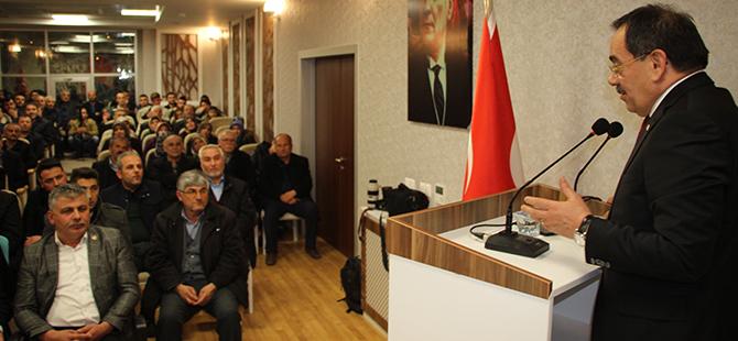 Mustafa Demir Havza'da