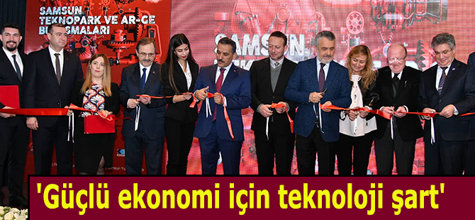 Başkan Zihni Şahin, Teknopark ve Ar-Ge buluşmalarında konuştu