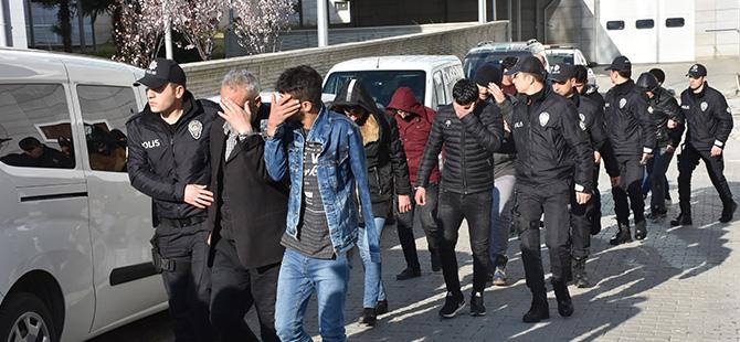 Samsun'da DEAŞ Operasyonu 24 Kişi