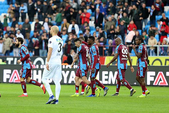 Trabzonspor: 2 - Akhisarspor: 1