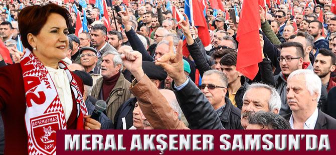 """Akşener;""""Ak Partiye Oy Veren Seçmen Kardeşlerimiz Canımızdan Azizdir"""""""