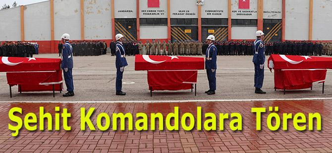 Şehit Komandolara Tören