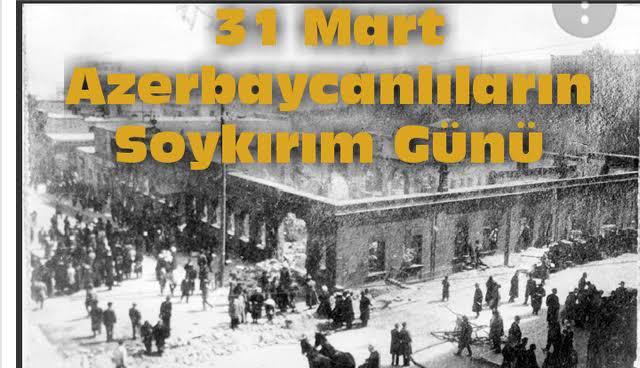 31 Mart Soykırımını lanetliyoruz