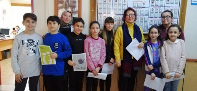 CUMHURİYET ORTAOKULU' NDA 55. KÜTÜPHANE HAFTASI ETKİNLİĞİ