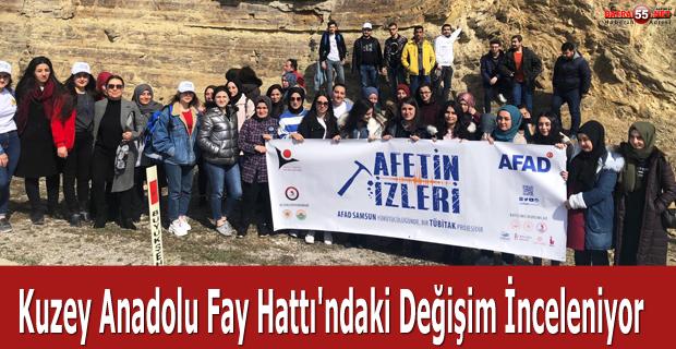 Kuzey Anadolu Fay Hattı'ndaki Değişim İnceleniyor