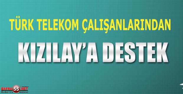 Türk Telekom'dan Kızılay'a Destek