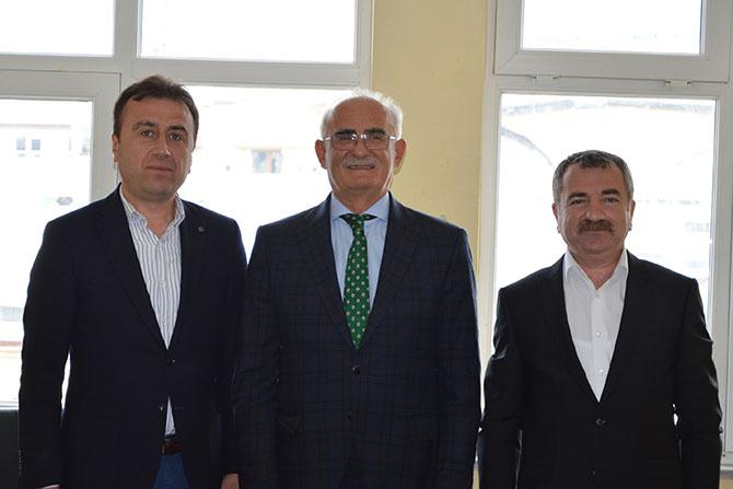 Yılmaz havza Belediye Başkanını Tebrik Etti