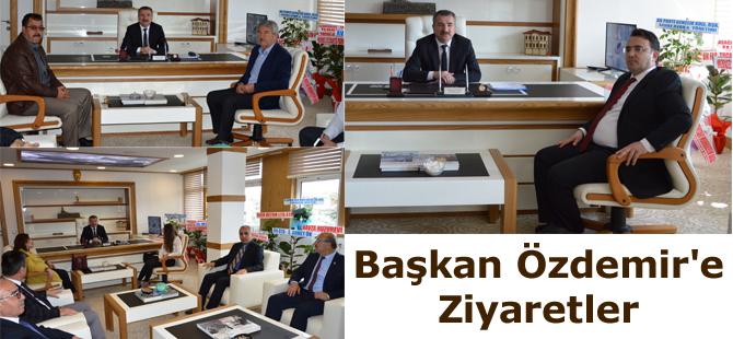 Başkan Özdemir'e Ziyaretler