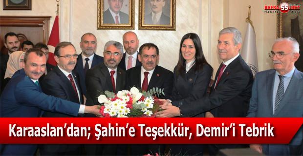Mustafa Demir Görevi Devir Aldı