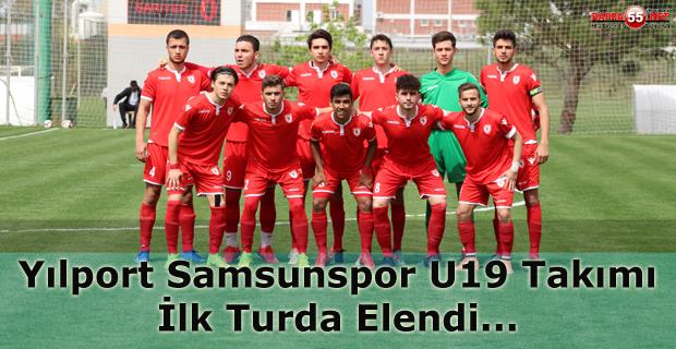 U19 Takımımız Birinci Turda Elendi