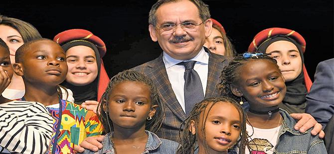 Başkan Demir,  Dünya Çocuklarıyla Buluştu