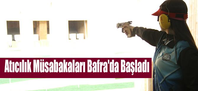 Atıcılık Müsabakaları Bafra'da Başladı