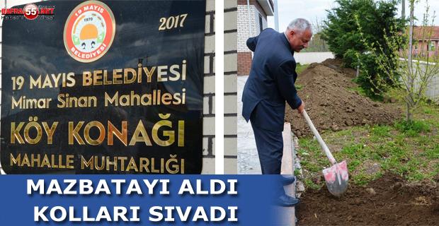MAZBATAYI ALDI KOLLARI SIVADI