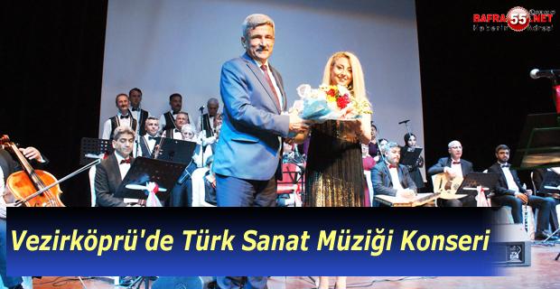 Vezirköprü'de Türk sanat müziği konseri