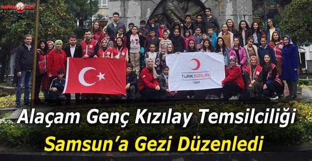 Alaçam Genç Kızıay Temsilciliği Samsun'a Gezi Düzenledi