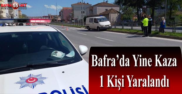 BAFRA'DA KAZA! 17 YAŞINDA ÇOCUK KAZADA...