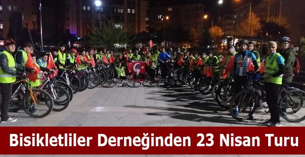 Bisikletliler Derneğinden 23 Nisan Turu