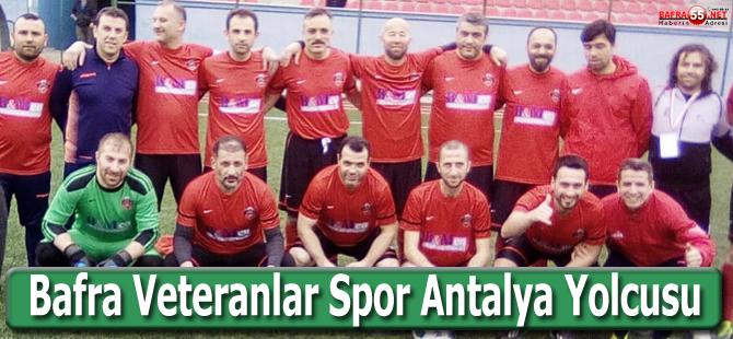 Bafra Veteranlar Spor Antalya Yolcusu