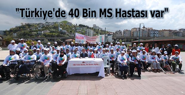 Türkiye'de 40 Bin MS Hastası Var !