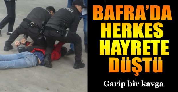 Bafra'da Bu Nasıl Olay!!!