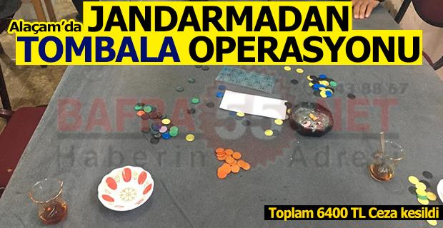 Jandarma ''Tombala'' Dedi