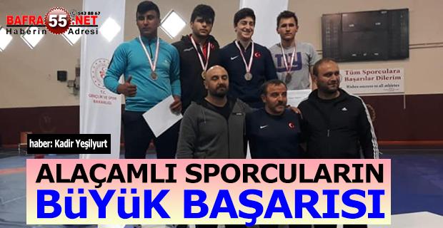 Alaçamlı Sporcuların Büyük Başarısı
