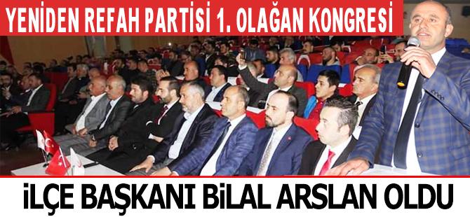 Yeniden Refah Partisi Bafra  1. Olağan Kongresini Yaptı