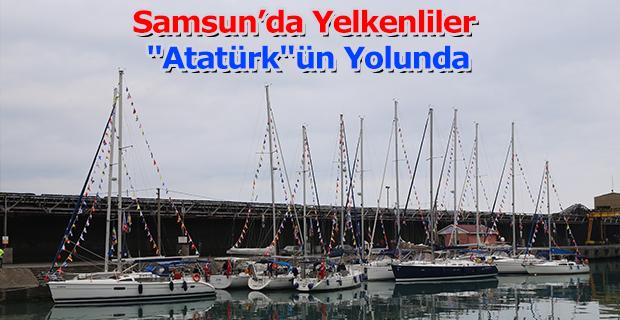 """Yelkenliler """"Atatürk""""ün yolunda"""