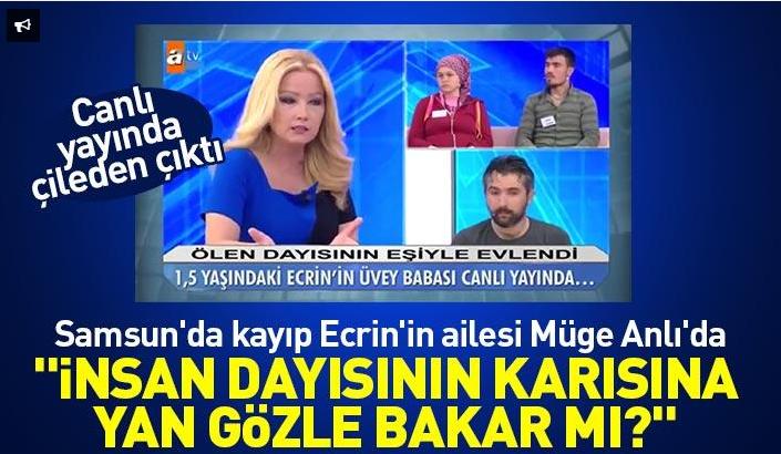 Samsun'da kayıp Ecrin'in ailesi Müge Anlı'da