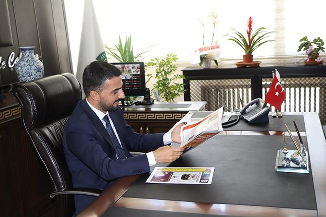 Ayvacık Belediye Başkanı Küçük Gazeteciler İle..