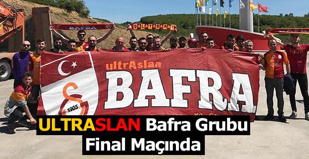 ULTRASLAN Bafra Grubu Final Maçında