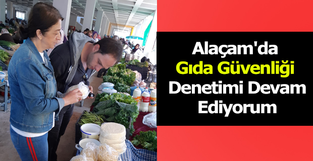 Alaçam'da Gıda Güvenliği Denetimi Devam Ediyorum