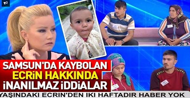 Kayıp Ecrin Bebek Olayında Kan Donduran İddialar!