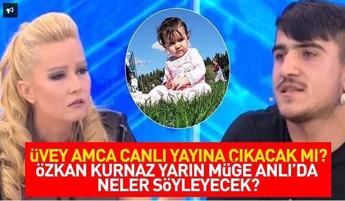 Ecrin Kurnaz'ın üvey amcası canlı yayında neler söyleyecek?