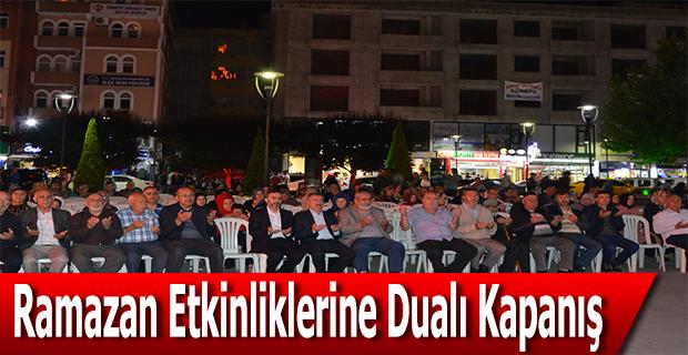 Ramazan Etkinliklerine Dualı Kapanış