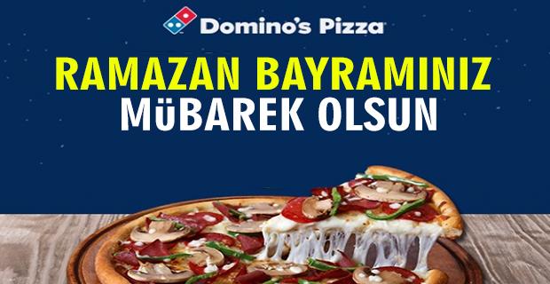 Dominos Pizza İyi Bayramlar Diler