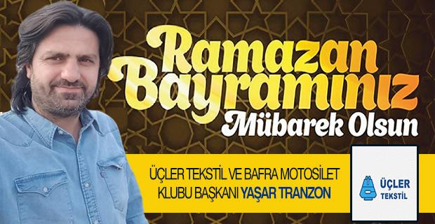 Üçler Tekstil Yaşar Trabzon iyi bayramlar diler