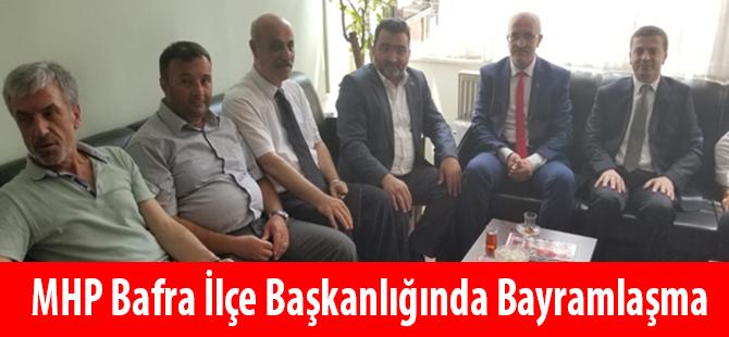 MHP Bafra İlçe Başkanlığında Bayramlaşma