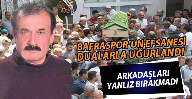 Bafraspor'un Emektarı Son Yolculuğuna Uğurlandı