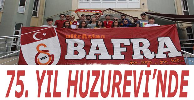 ultrAslan Bafra'dan Huzurevi'ne Ziyaret