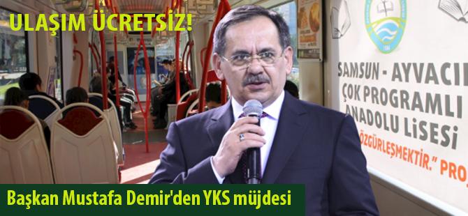 Başkan Mustafa Demir'den YKS müjdesi