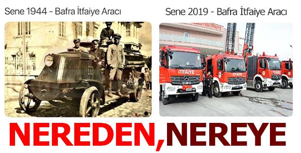 Bafra'da Nereden, Nereye
