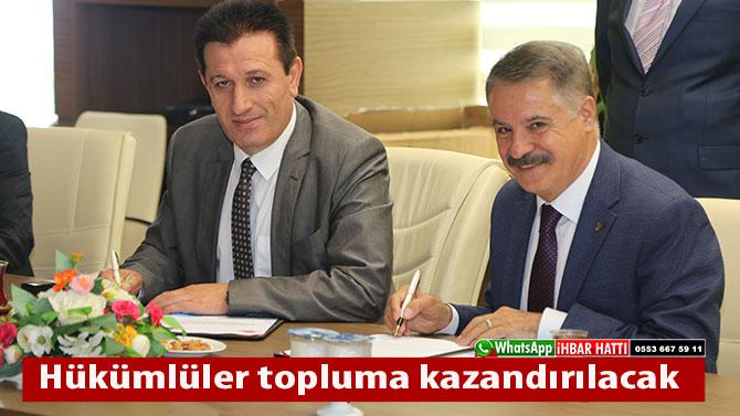 Atakum Belediyesi'nden iş birliği protokolü