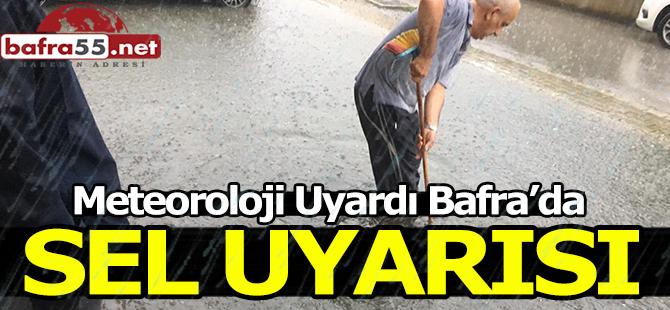 Bafra'da Sel Uyarısı!