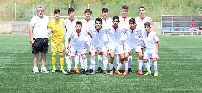 Yılport Samsunspor U14 – Ankara Gölbaşı U14:  4-1