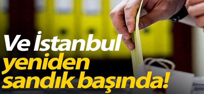 İstanbul Yeniden Sandık Başında