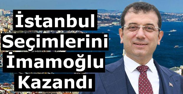 İstanbul Seçimlerini İmamoğlu Kazandı