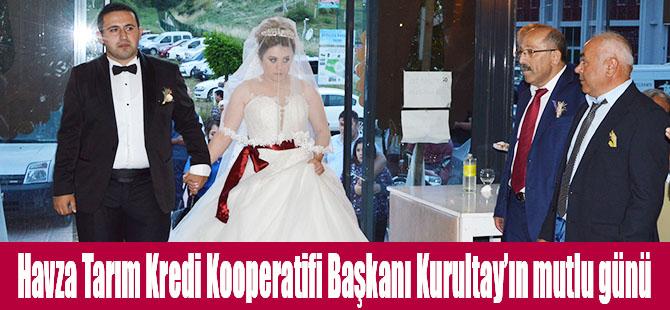 Havza Tarım Kredi Kooperatifi Başkanı Kurultay'ın mutlu günü