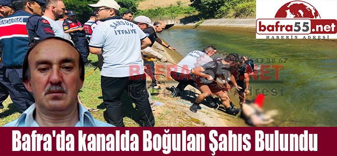 Sulama kanalına düşen bir kişi boğularak can verdi