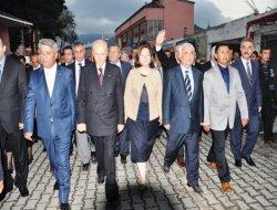 MHP LİDERİ BAHÇELİ ALAÇAM'DA